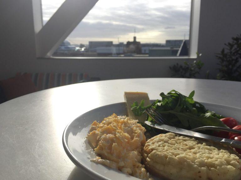 Déjeuner avec vue cuisiné au Sydney Harbour YHA