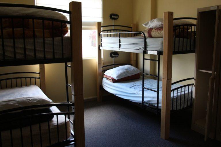 Dortoir à 6 lits du Hobart YHA