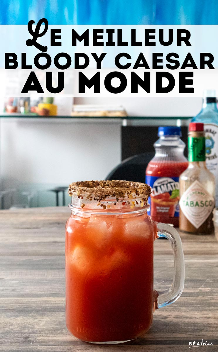 Image pour Pinterest : Bloody Caesar