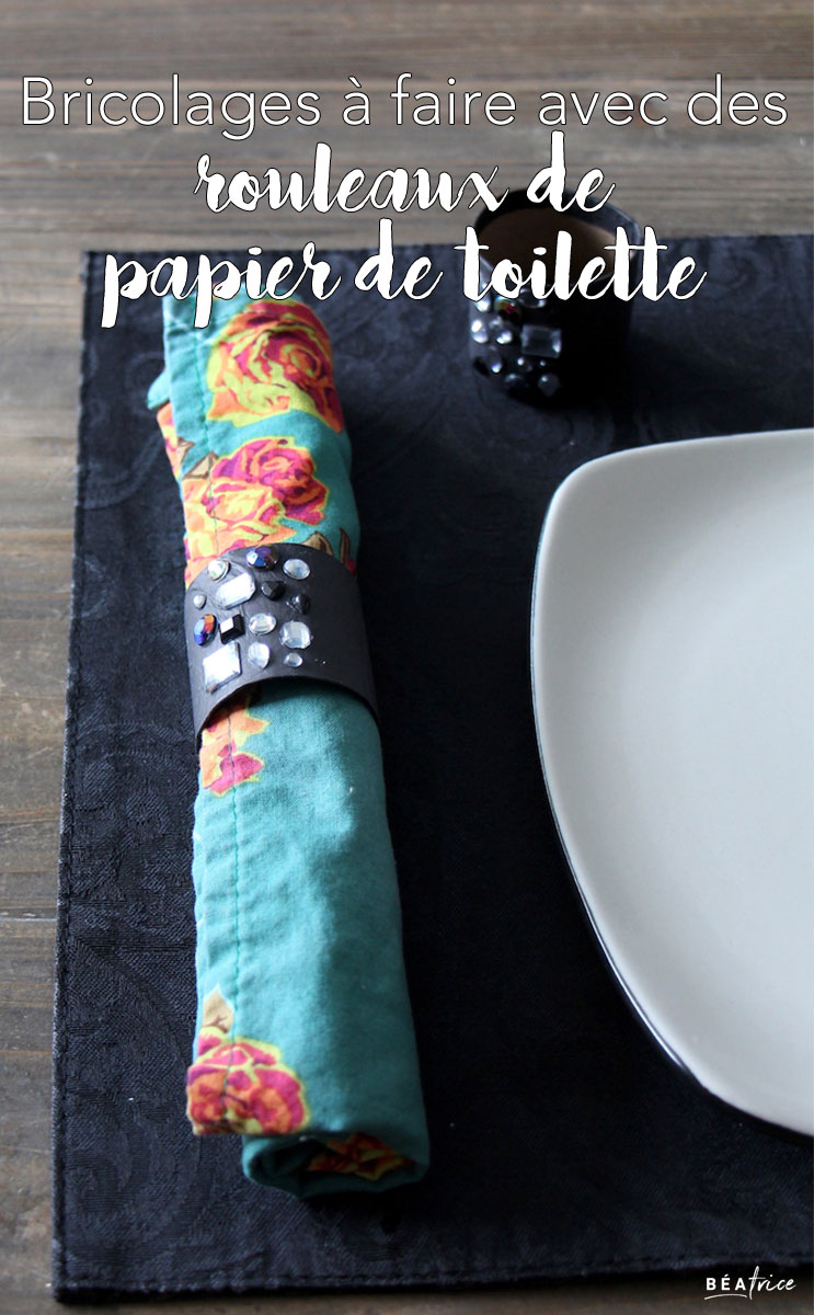 DIY rouleaux papier de toilette