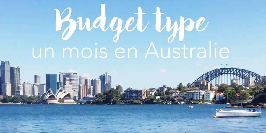 Budget type – un mois en Australie