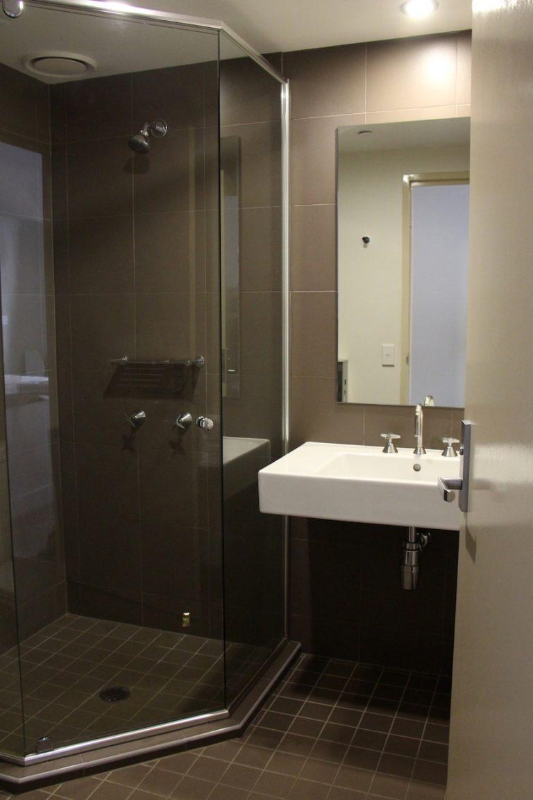 Salle de bain du Sydney Harbour YHA