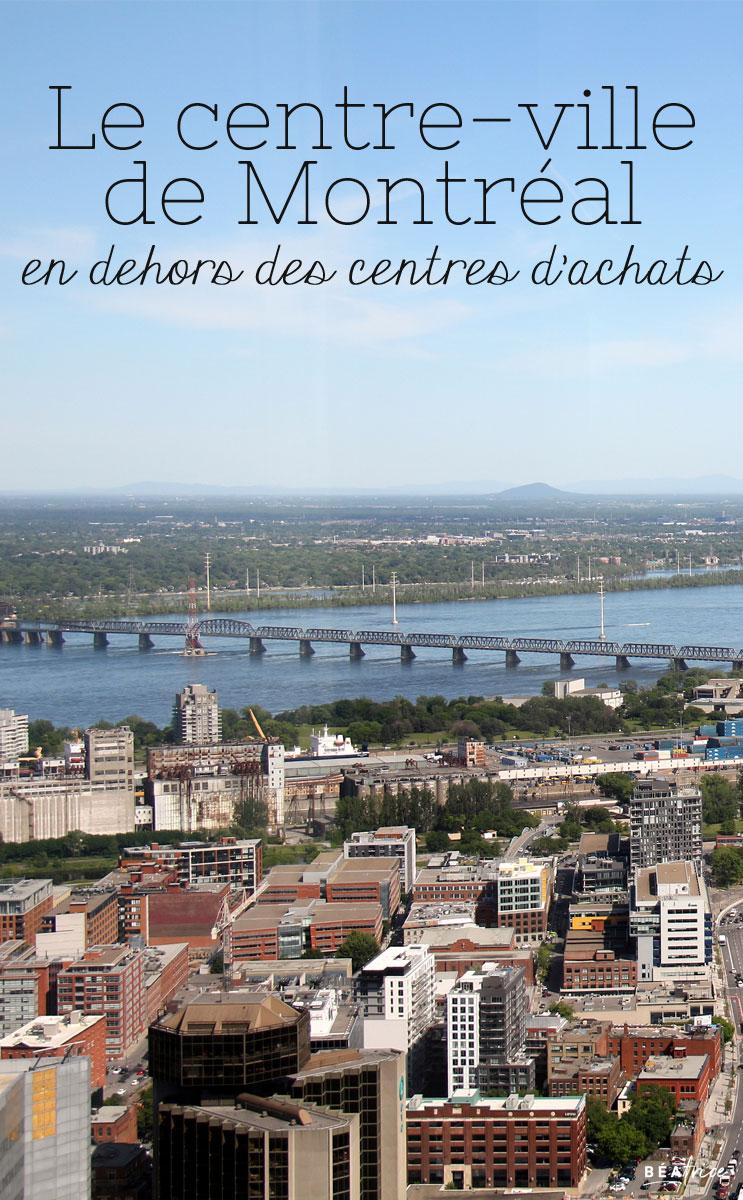Image pour Pinterest : quoi faire au centre-ville de Montréal