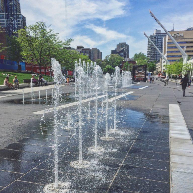 Fontaines du Quartier des spectacles
