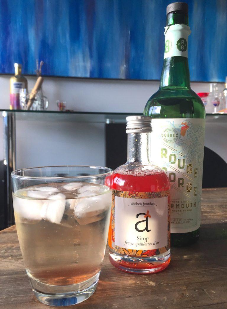 Ingrédients pour faire un cocktail estival