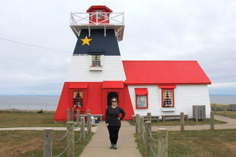 Moi dans la Péninsule Acadienne