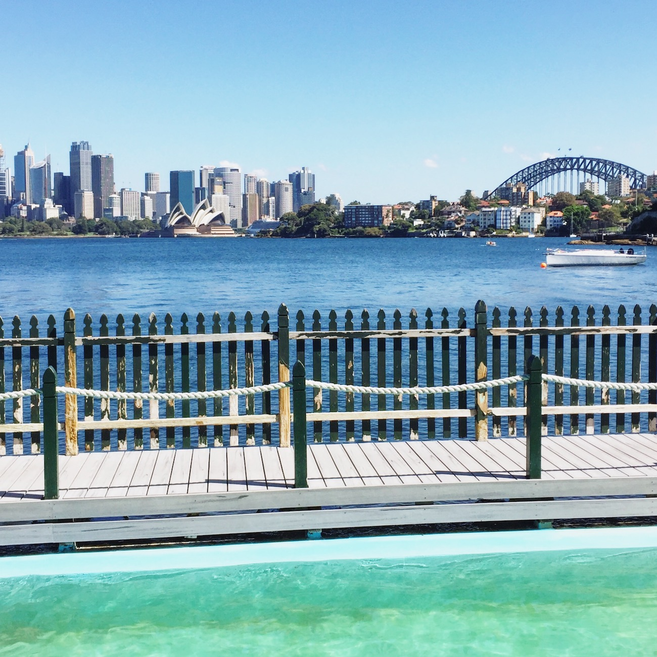 Maccallum Pool de Cremorne Point, Sydney