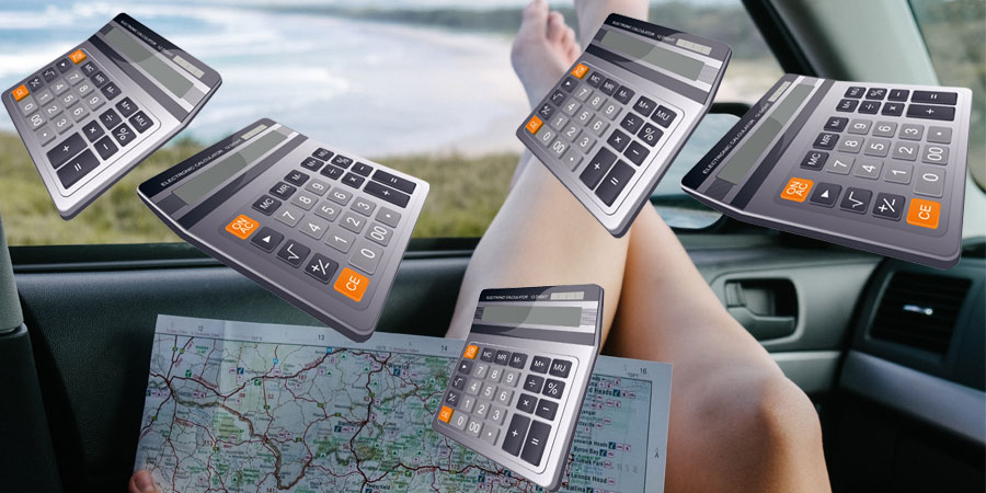 Image à la une : budget voyage Excel
