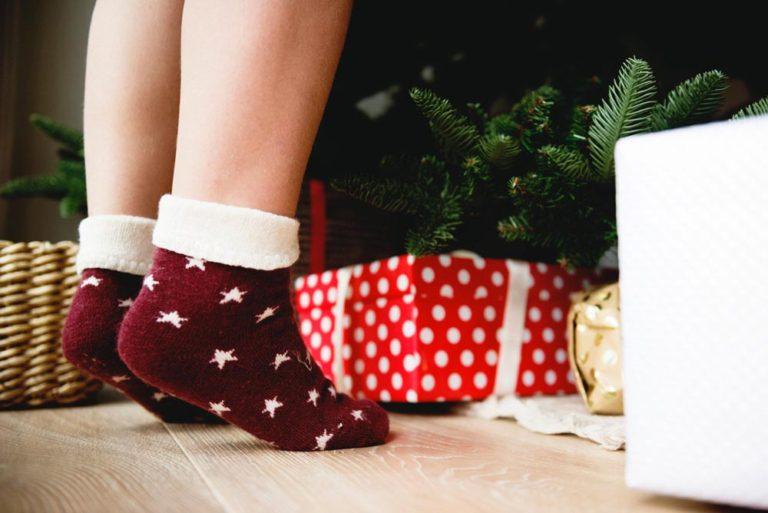 Bas doux de Noël