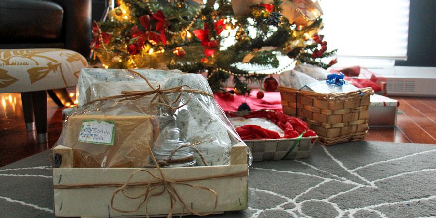 Image à la une : donner des cadeaux