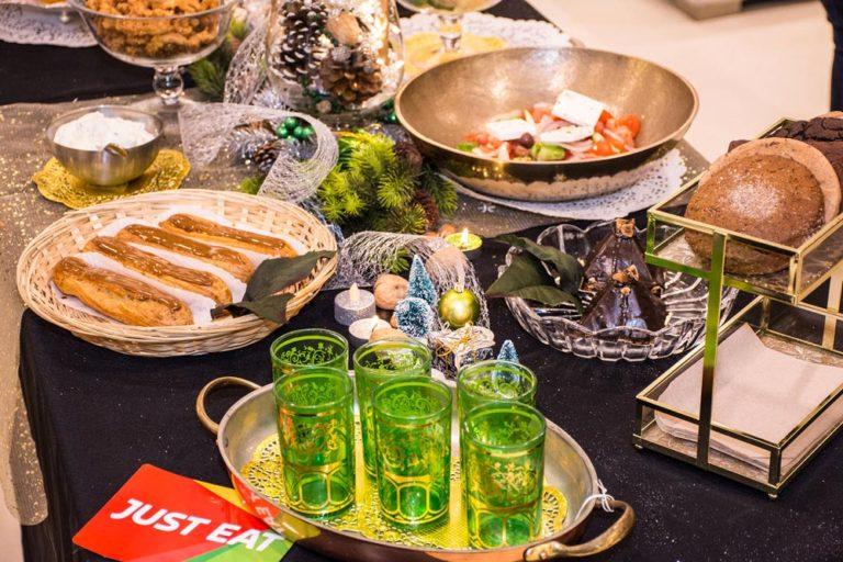 Repas des fêtes fait par un traiteur