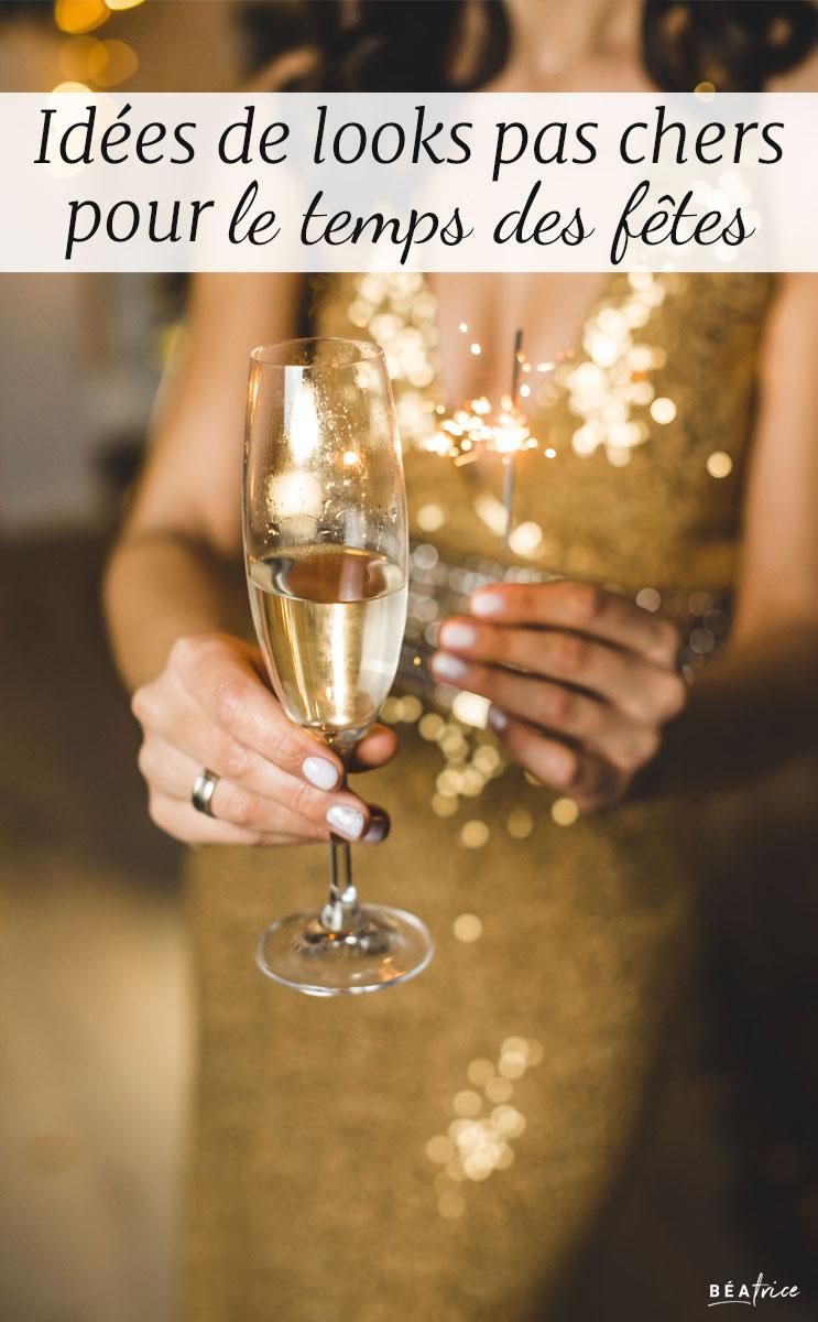 Image pour Pinterest : robe de soirée pas cher