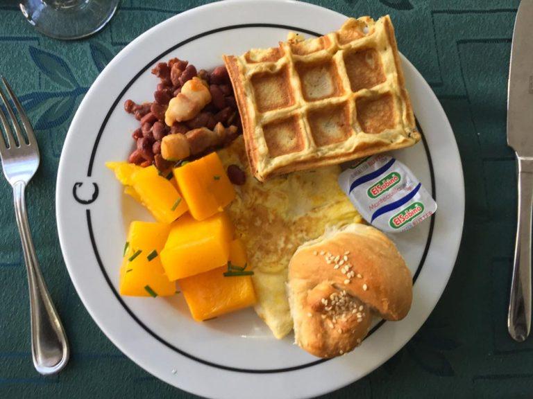 Déjeuner au Hotel Nacional de Cuba