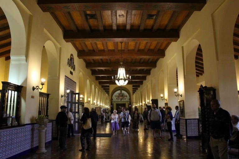 Le lobby du Hotel Nacional de Cuba