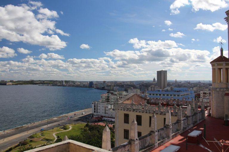 Vue du Hotel Nacional de Cuba