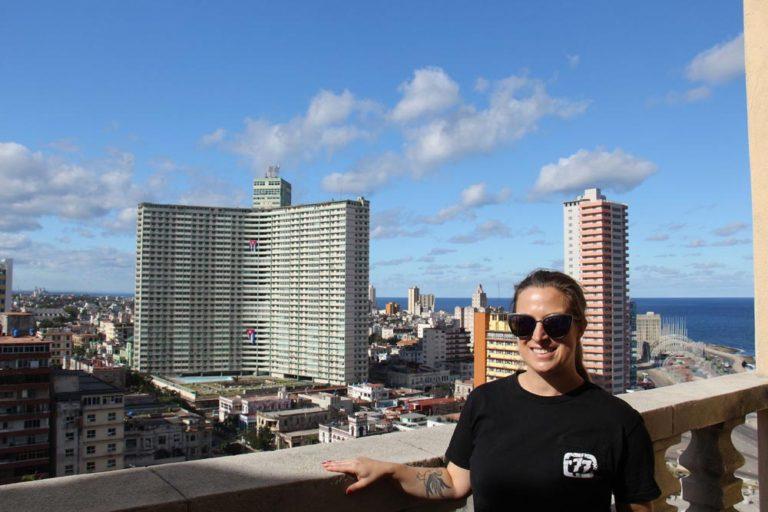 Moi au Hotel Nacional de Cuba