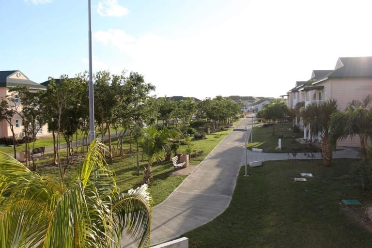 Vue du balcon au Ocean Varadero El Patriarca