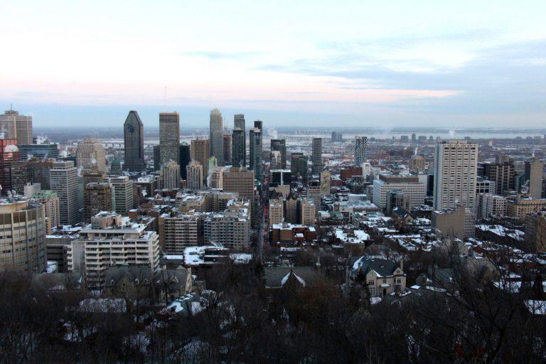 Belvédère Kondiaronk : Gratuit à Montréal hiver - le Mont Royal