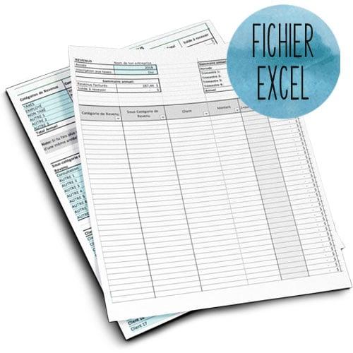 Aide-mémoire Excel pour travailleuses autonomes