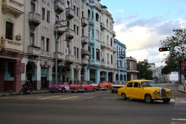 Voitures vintage à La Havane