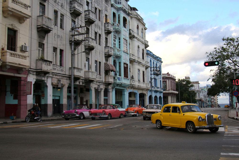 Autos vintage à Cuba