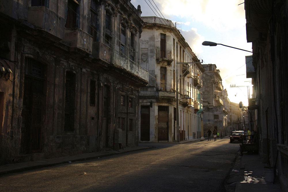 Centro Habana au coucher du soleil