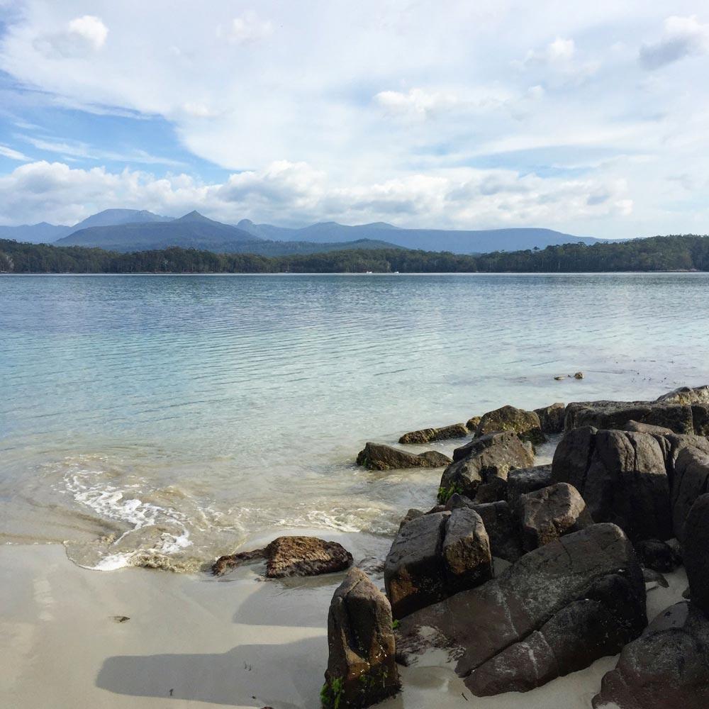 Recherche Bay, Tasmanie