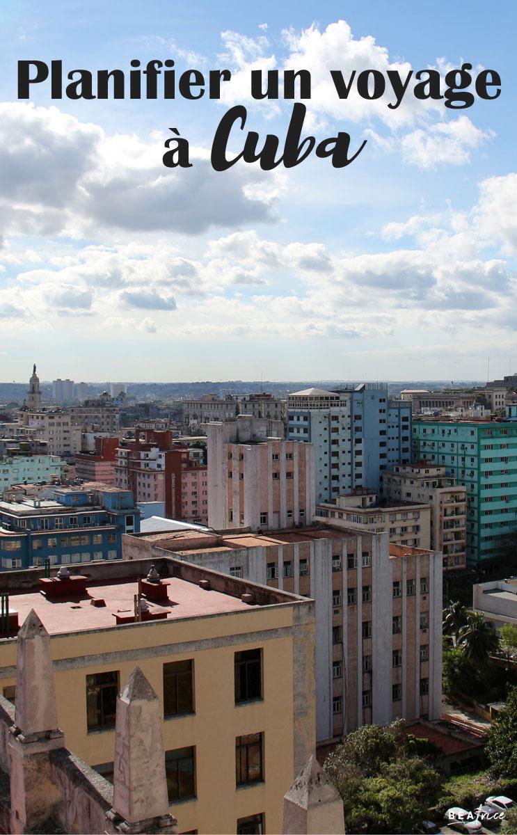 Image pour Pinterest : voyage à Cuba