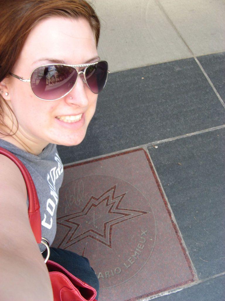 Moi au Canada Walk of Fame