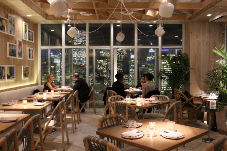 Vue au restaurant Kost