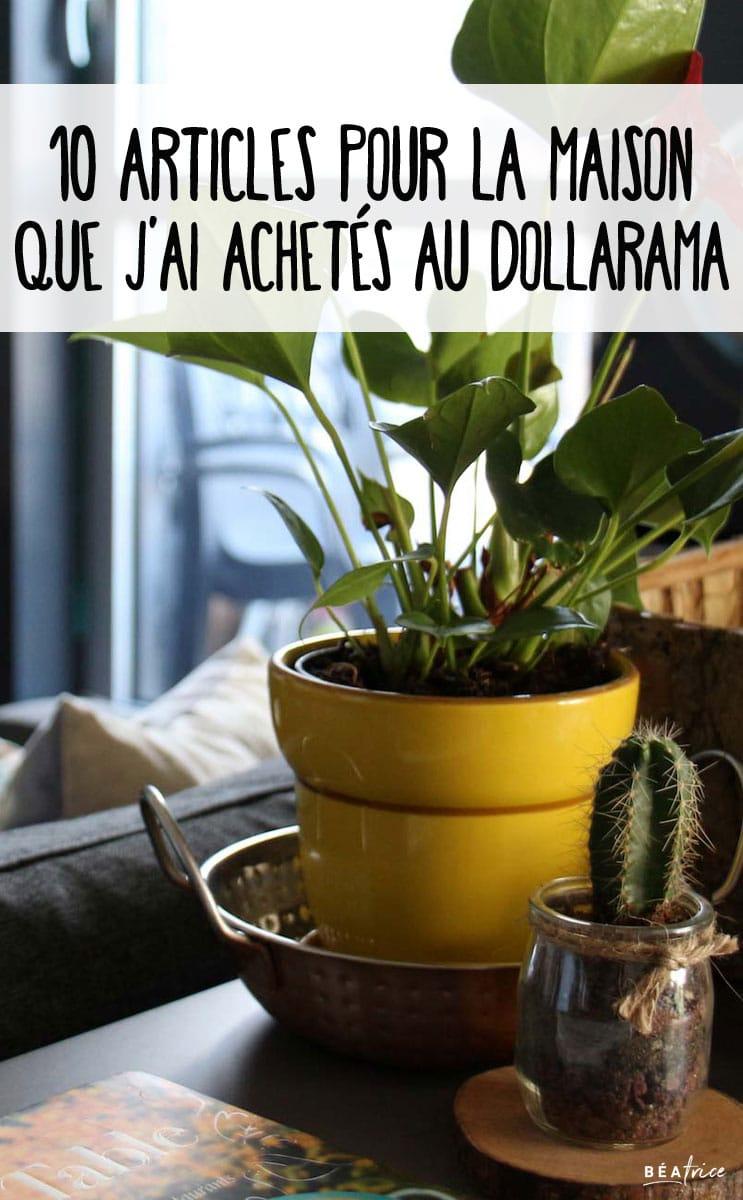 Image pour Pinterest : Dollarama produits