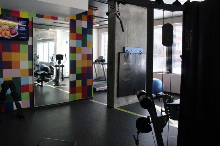 Gym Hôtel Alt Montréal hébergement abordable montréal