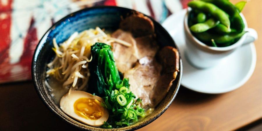 Image à la une : soupe ramen Montréal