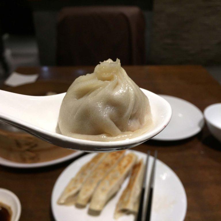 Soup Dumpling au Dinesty budget de voyage Vancouver