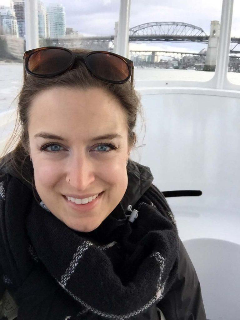 Dans le False Creek Ferry budget de voyage Vancouver