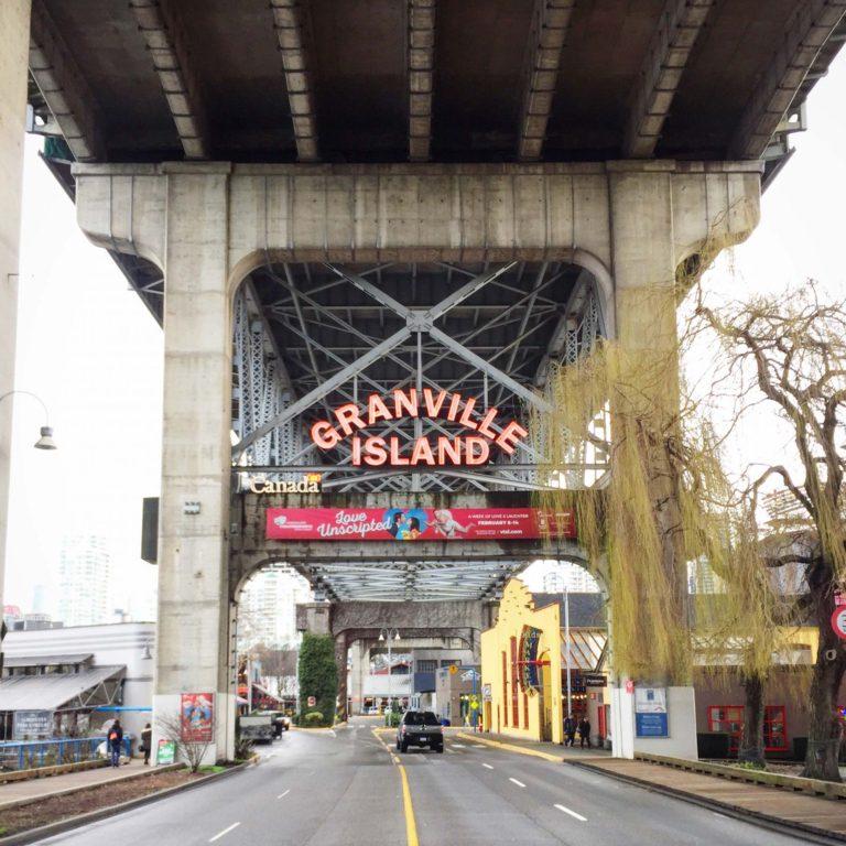 Granville Island budget de voyage Vancouver