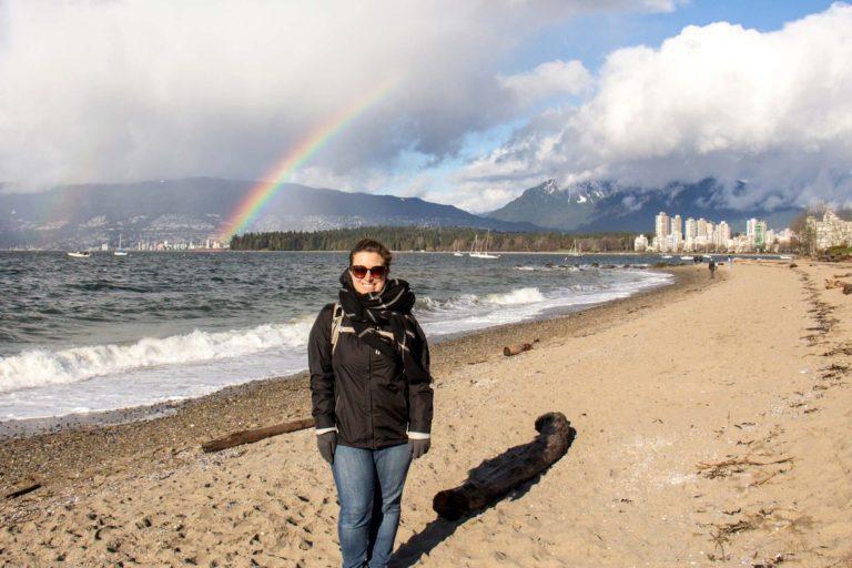 Moi à Vancouver