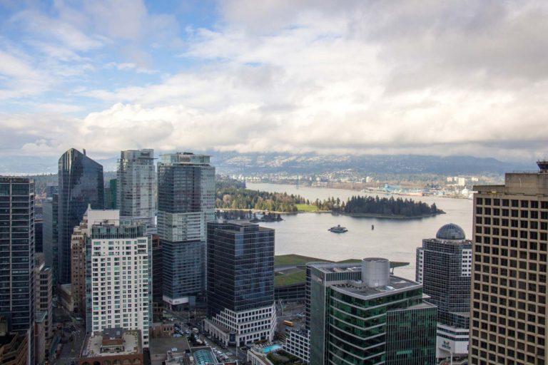 Vue du Vancouver Lookout budget de voyage Vancouver