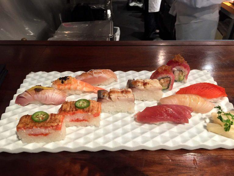 lunch au Minami