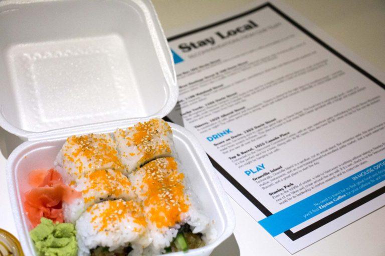 Samurai Cheap eats à l'hôtel The Burrard voyage à petit budget