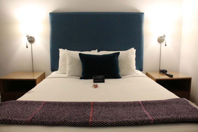 Chambre hôtel The Burrard budget de voyage Vancouver