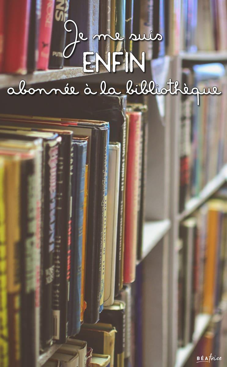 Image pour Pinterest : abonnement bibliothèque