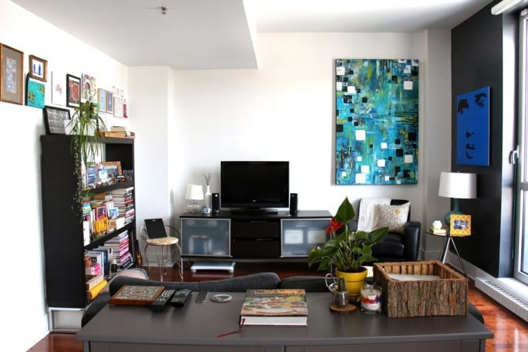 Meuble télé peinturé - Ikea Hacks