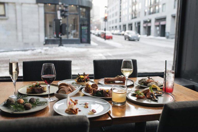Restaurant 400 Coups dans le Vieux-Montréal