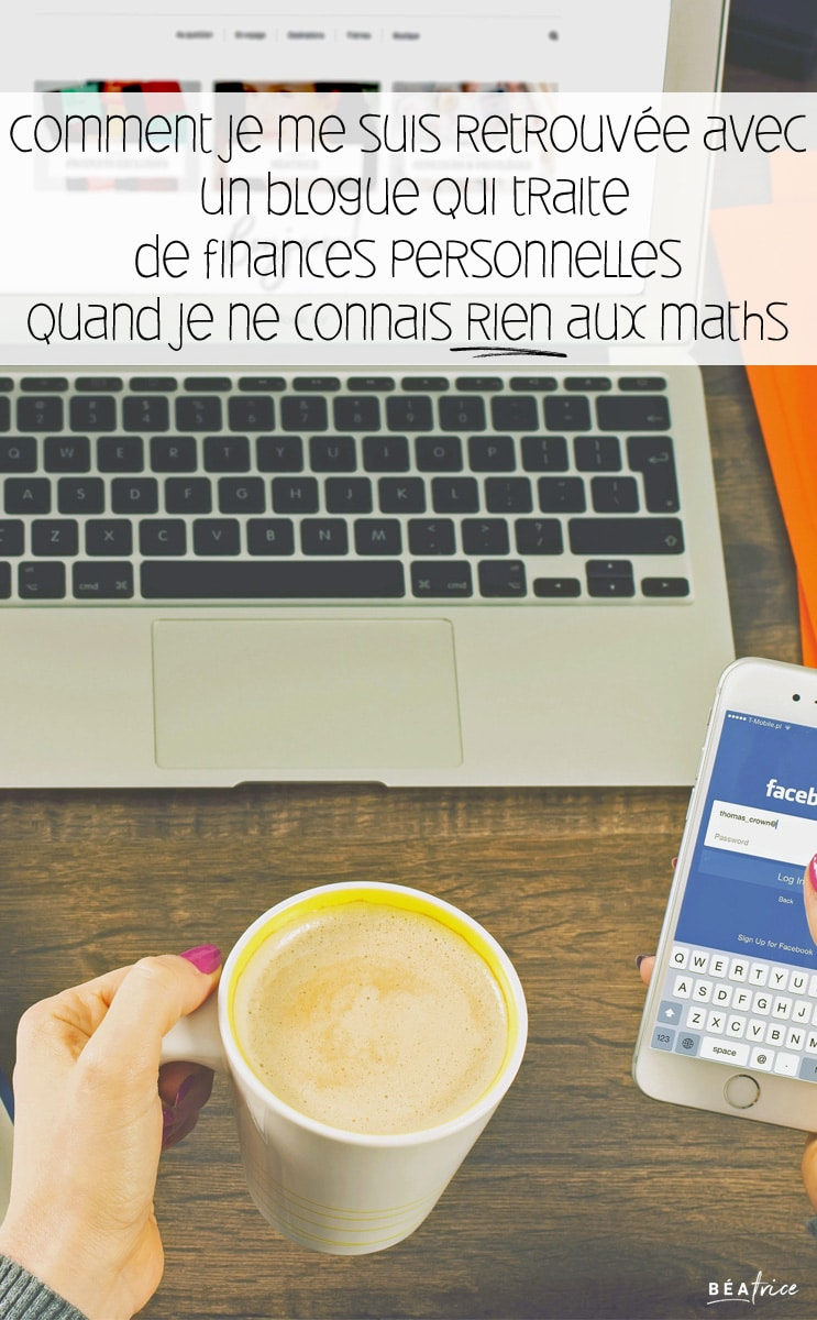 Image pour Pinterest : blogue finances personnelles
