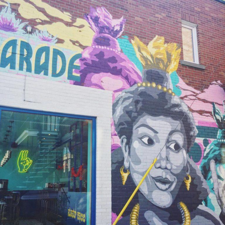 Art de rue, Montréal
