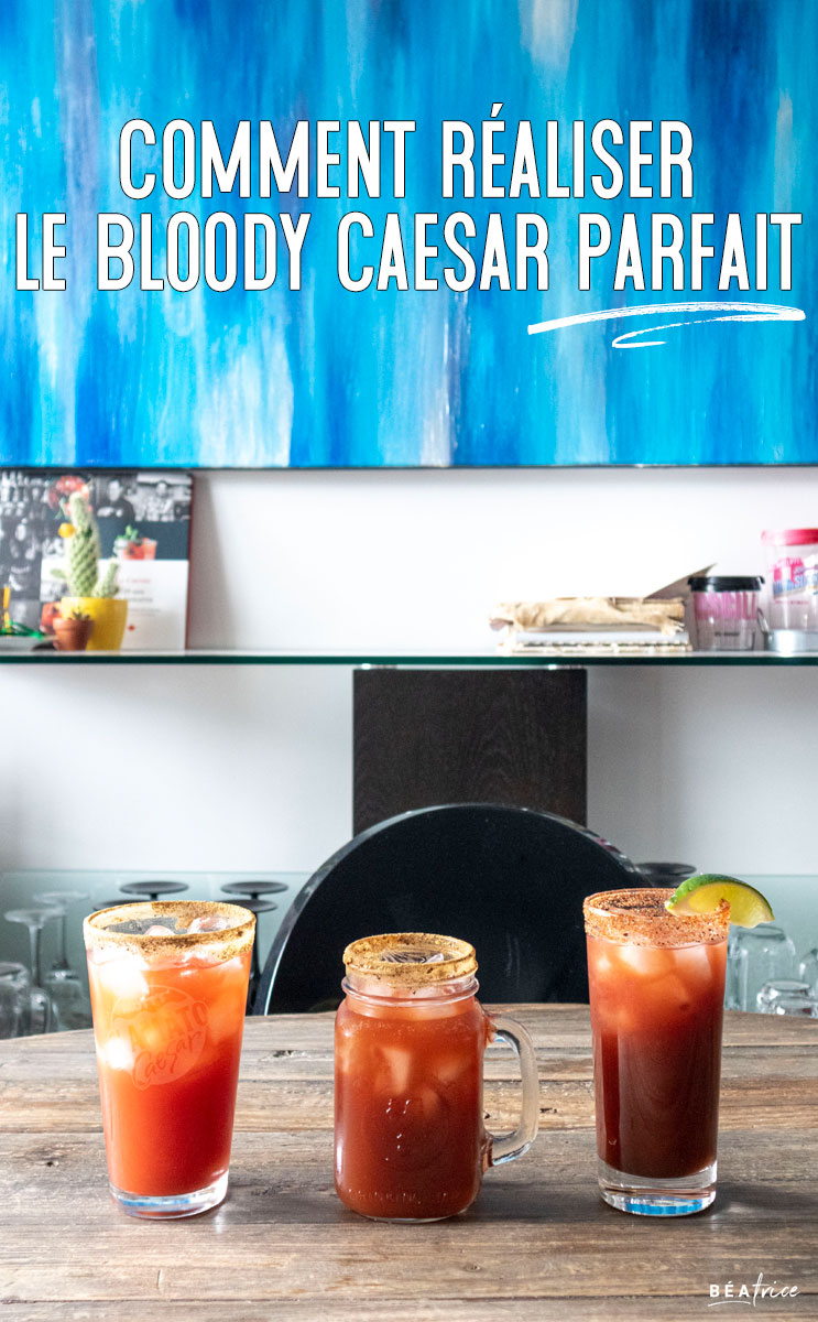 Image pour Pinterest : Recette de Bloody Caesar