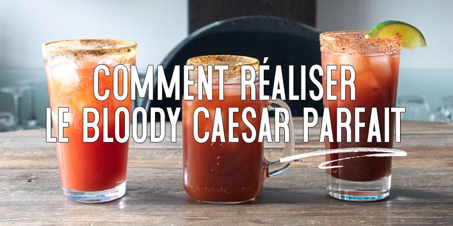 3 nouvelles recettes de Bloody Caesar