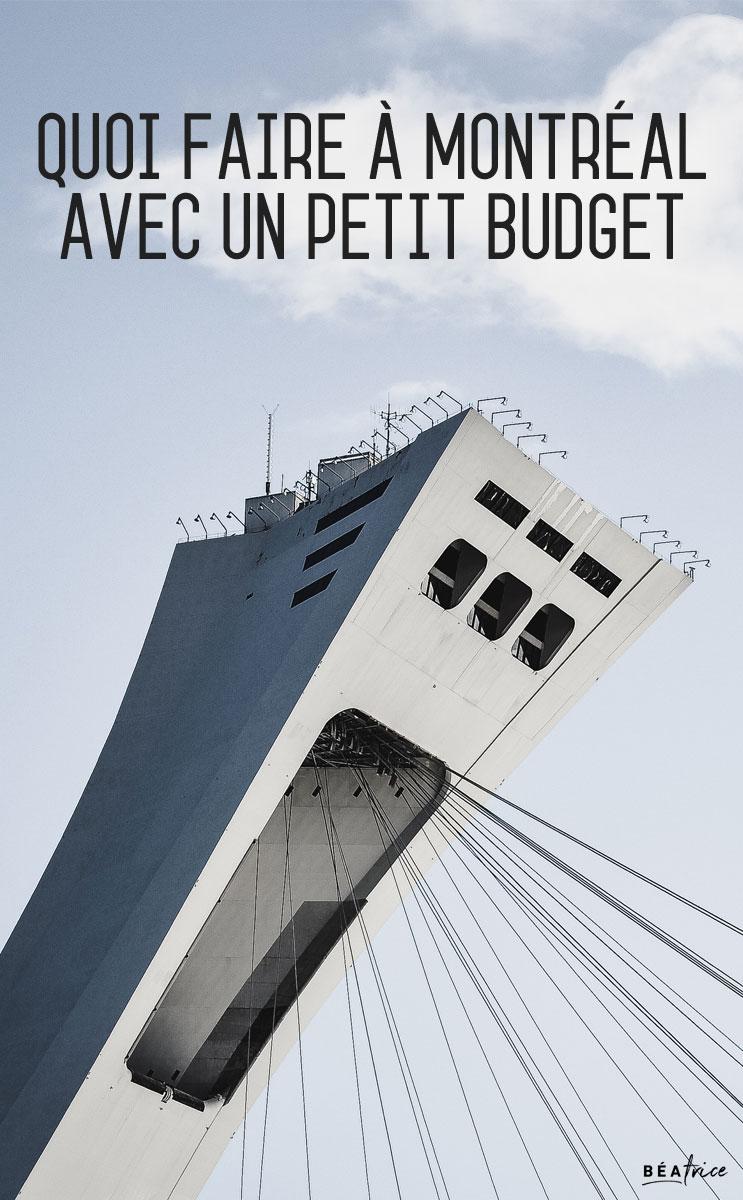 Image pour Pinterest : quoi faire à Montréal