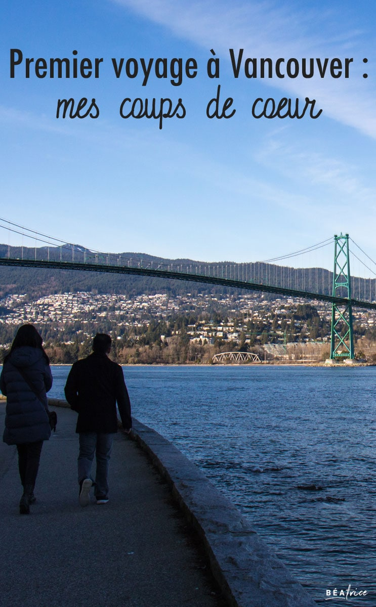 Image pour Pinterest : quoi faire à Vancouver